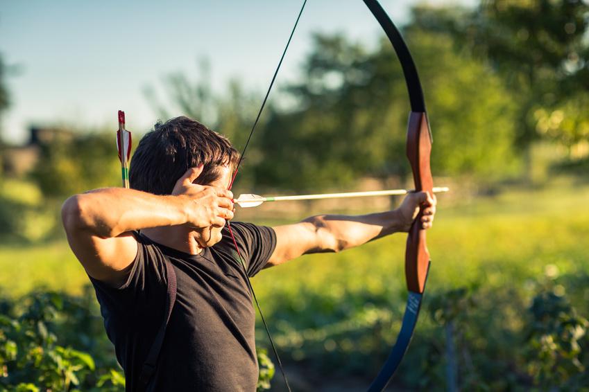 Intuitives Bogenschiessen - die älteste Form des Zielens mit Pfeil und