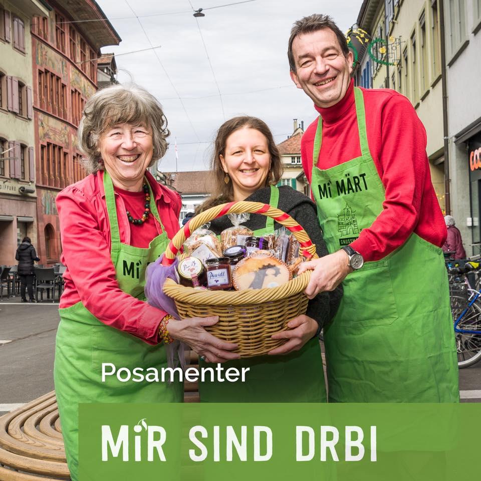 Hochstammfrüchte am Genussmarkt Liestal