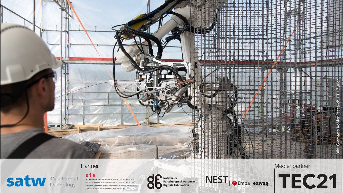 TecToday - Digitale Transformation – Zukunft des Bauens?