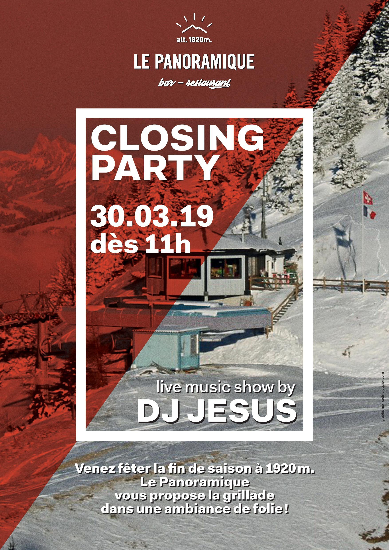Closing Party au Bar - Restaurant Le Panoramique à Torgon @  |  |