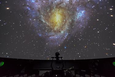 Öffentliche Führung im Planetarium - 1