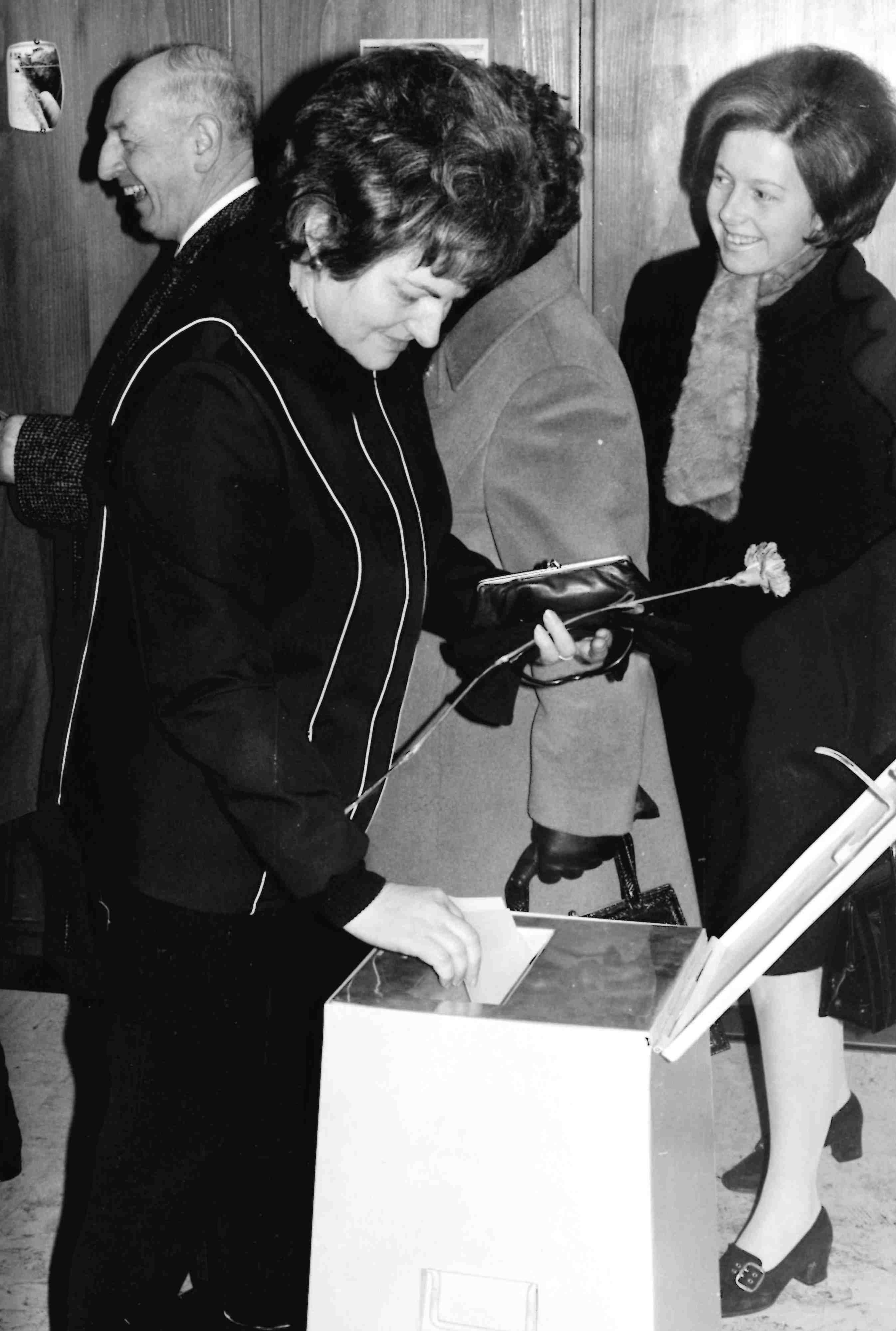 Vernissage Eine Stimme haben. 50 Jahre Frauenstimmrecht Luzern