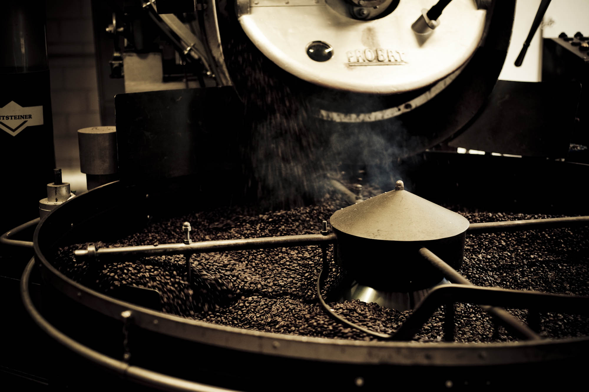 Die höchstgelegene Kaffe-Rösterei Europas