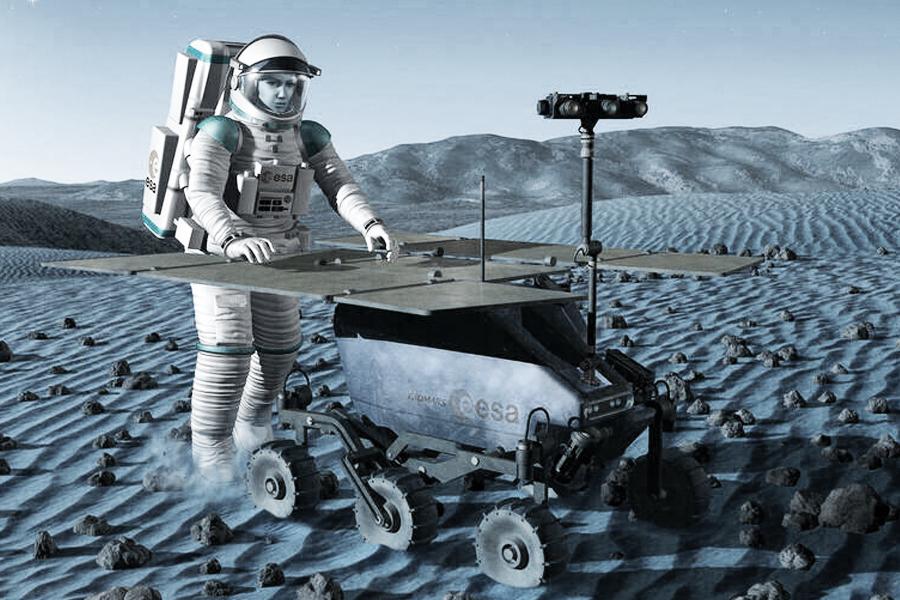 Roboter oder Astronaut?