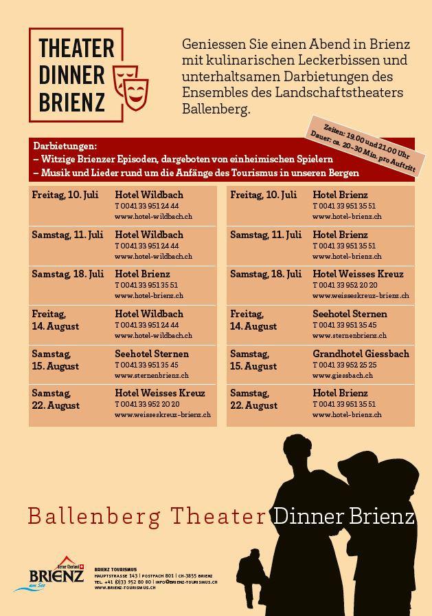 Theater Dinner Brienz