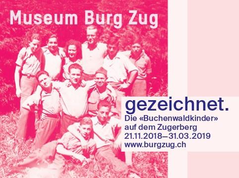 Kuratorenführung: gezeichnet. Die Buchenwaldkinder auf dem Zugerberg