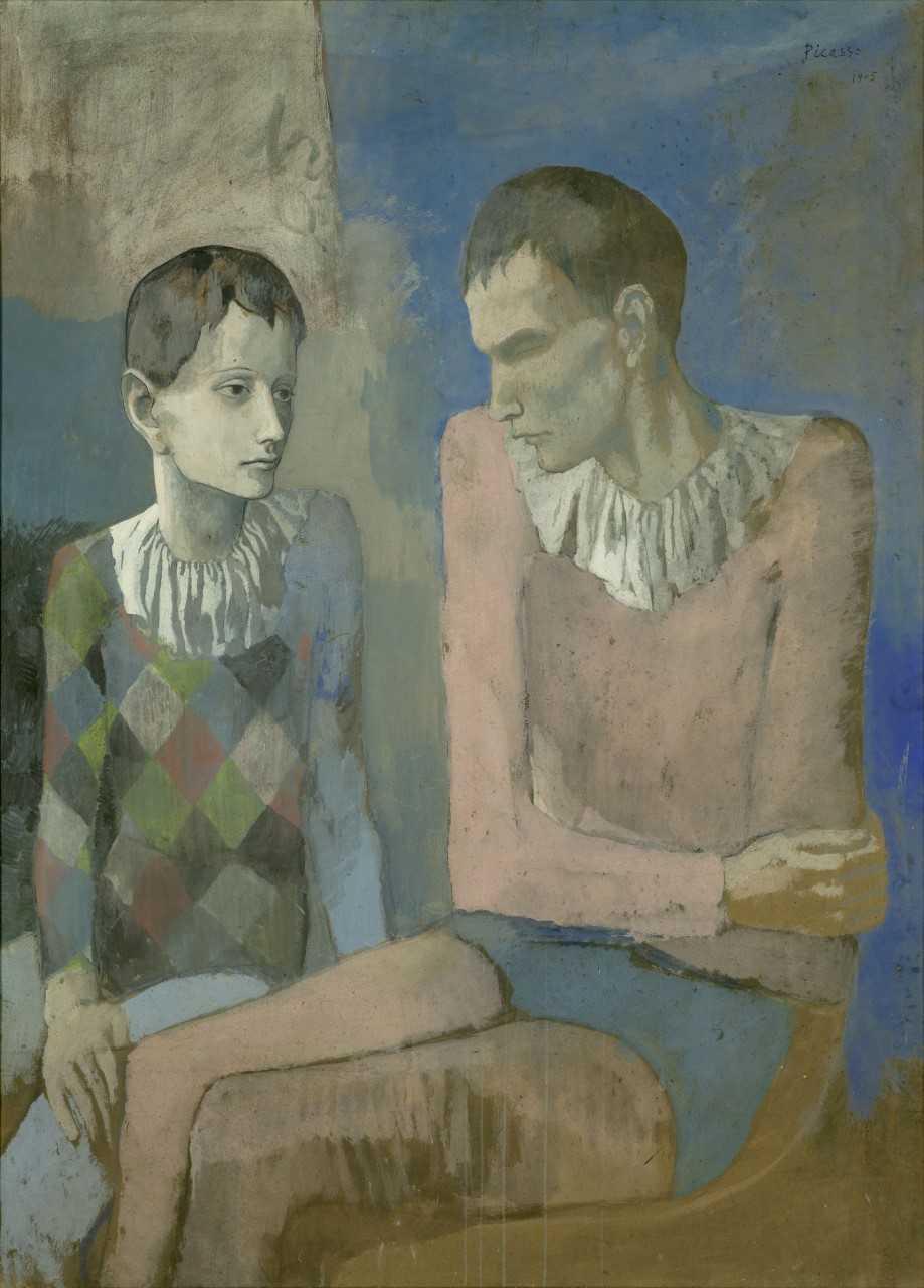 Der junge Picasso - Blaue und Rosa Periode