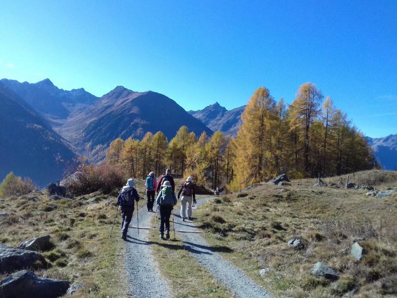 Wanderung für Seniorinnen und Senioren