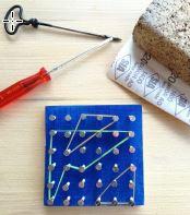 Kinder Workshop Gummiband-Spiel
