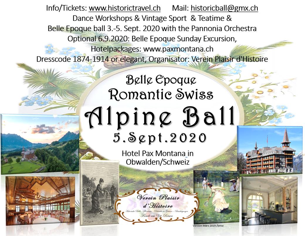 Belle Epoque Romantic Swiss Alpine Ball