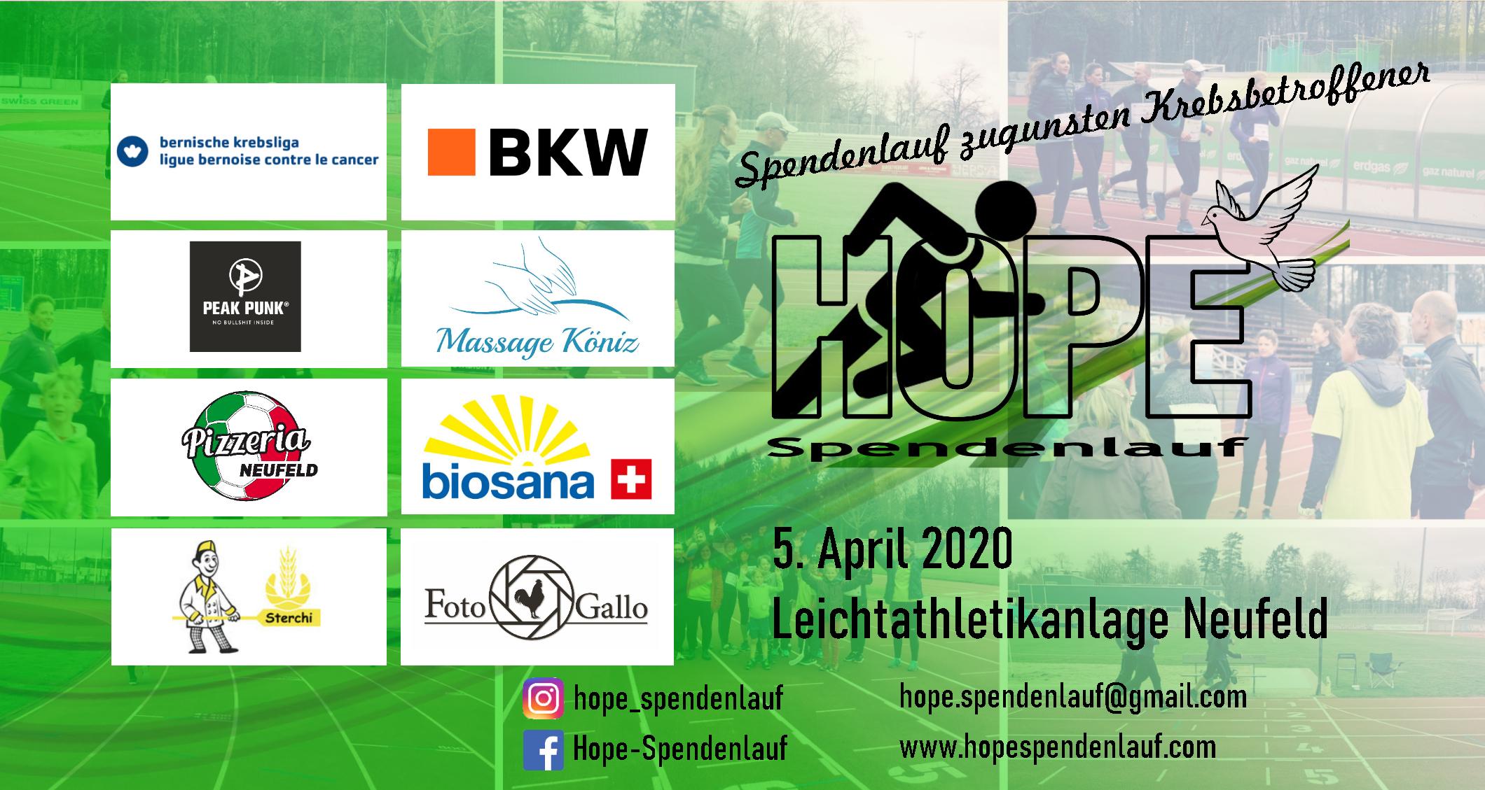 Hope-Spendenlauf