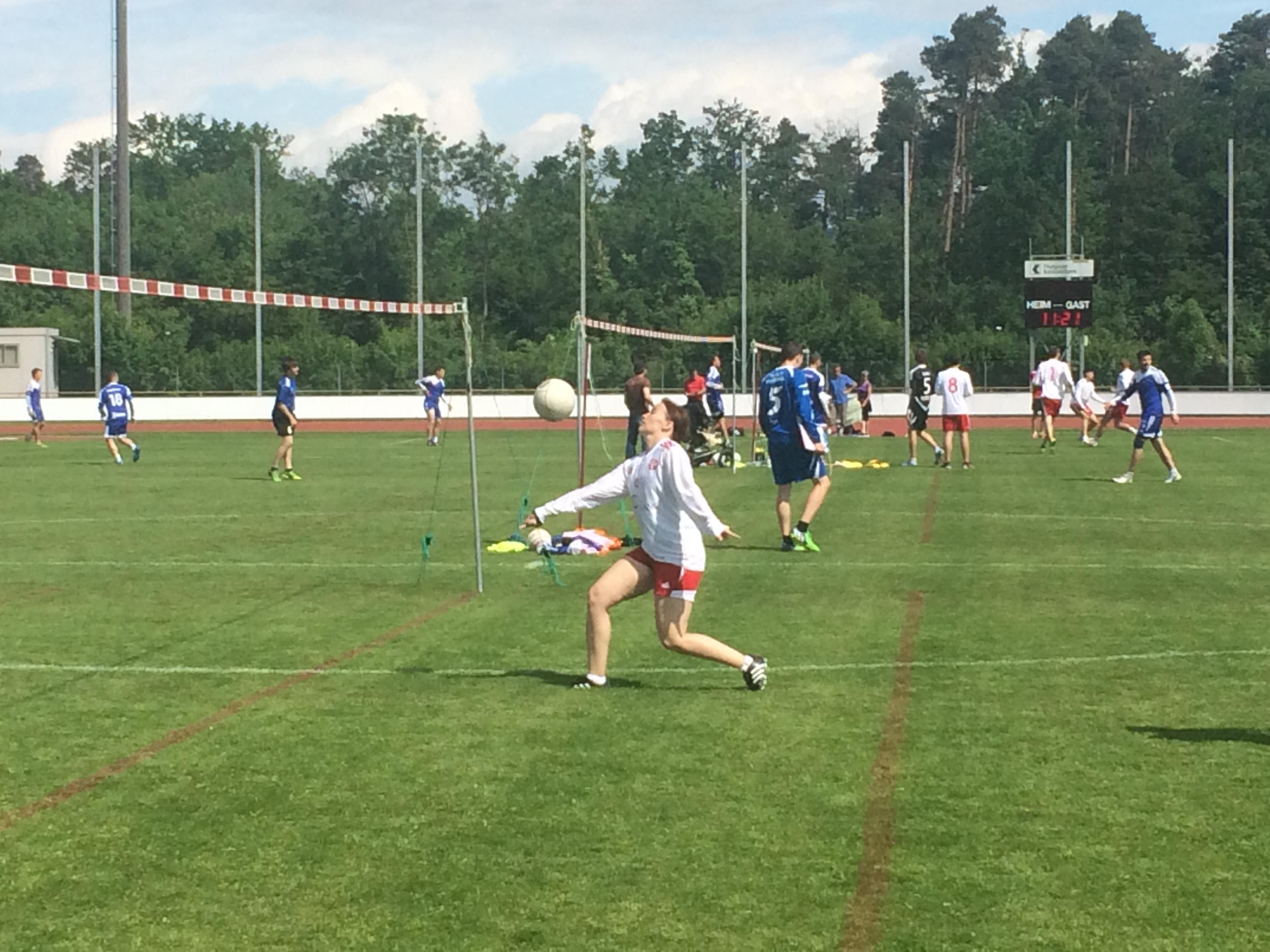 Int. Auffahrts-Faustball-Turnier