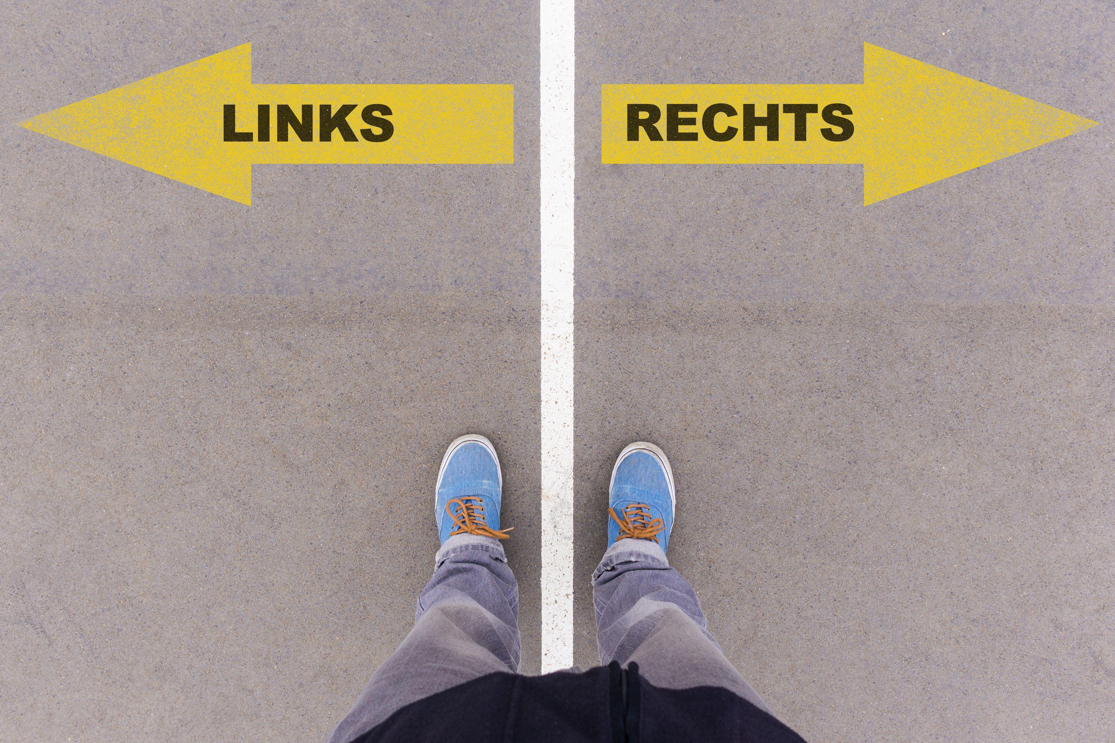 Öffentliche Führung: Links & rechts. Ein Geschicklichkeitsparcours
