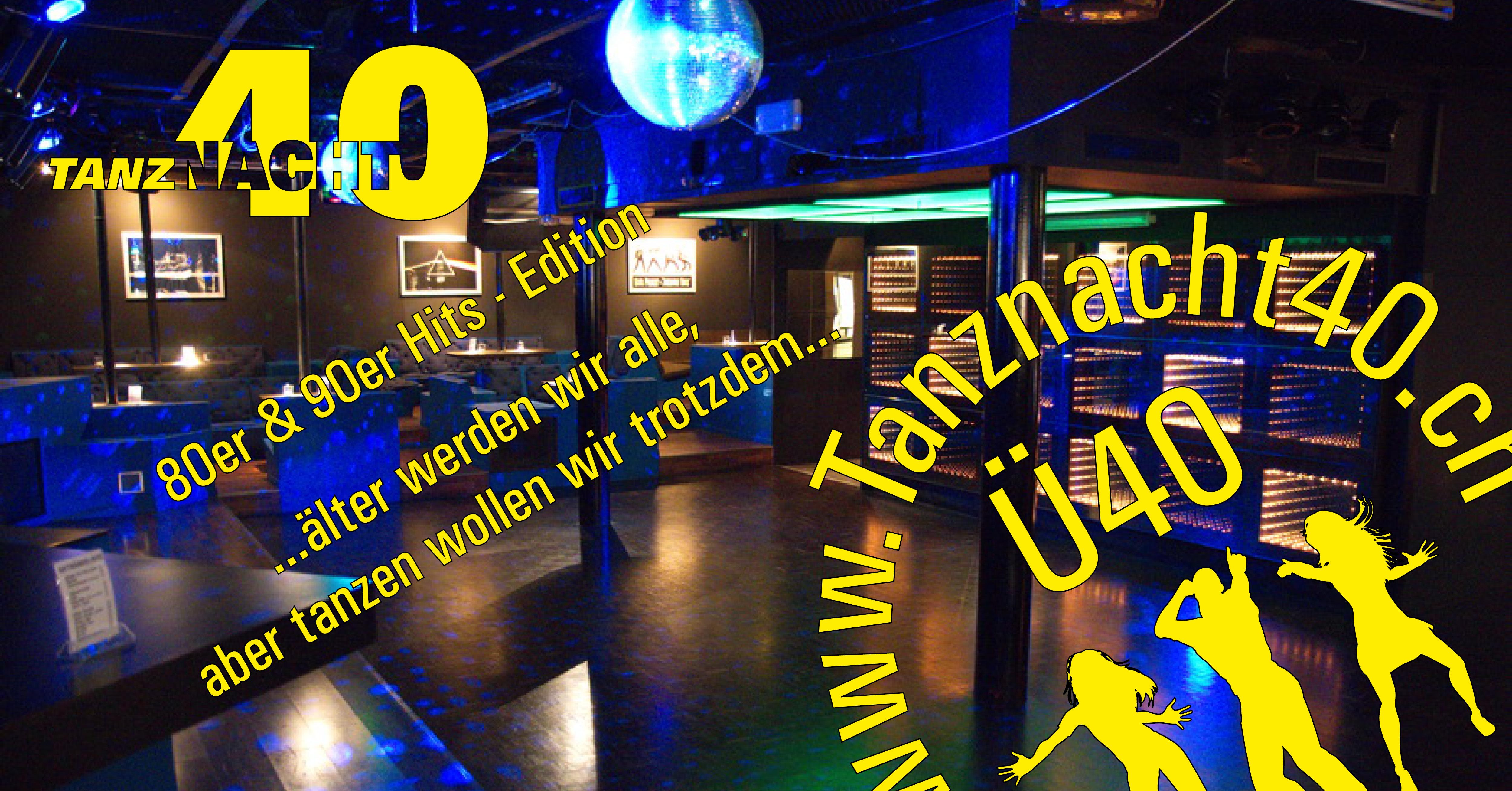 Tanznacht40 - 80/90er Edition