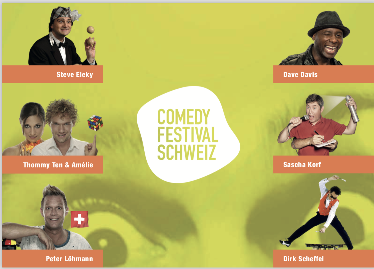 Comedy Festival Schweiz Zürich