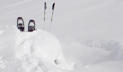 Vollmondtouren mit den Schneeschuhen