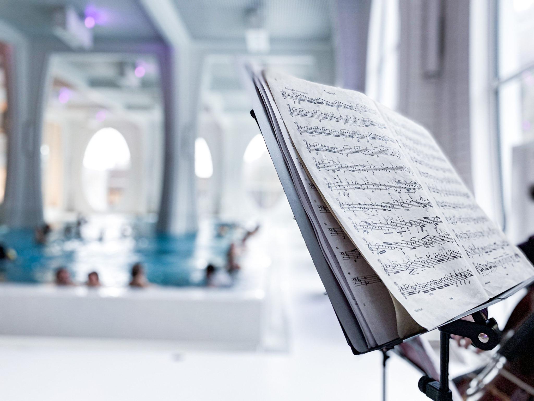 Music meets Spa - Livemusik mit 13 Schülern der Talentschule für Musik