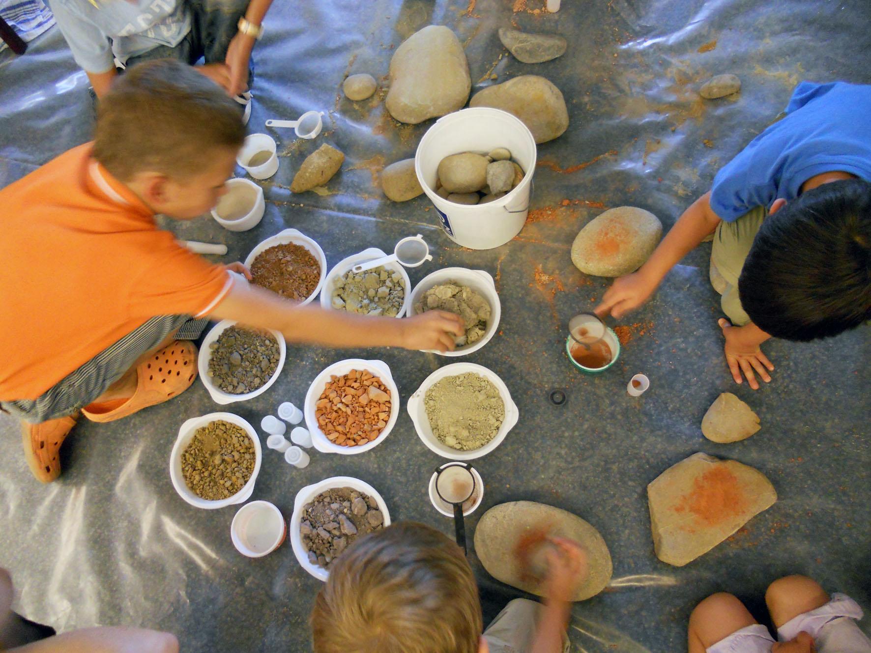 Gwunderstunde Kinder: Steine schleifen