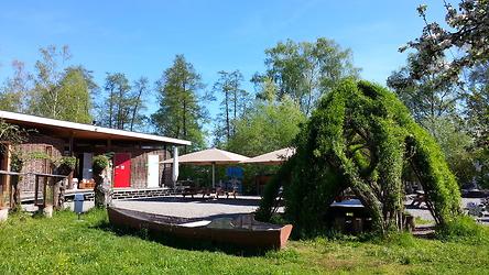 Naturstation Silberweide Frühling