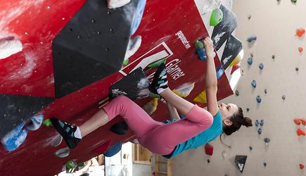 Bouldern in der www.boulderhalle.gl