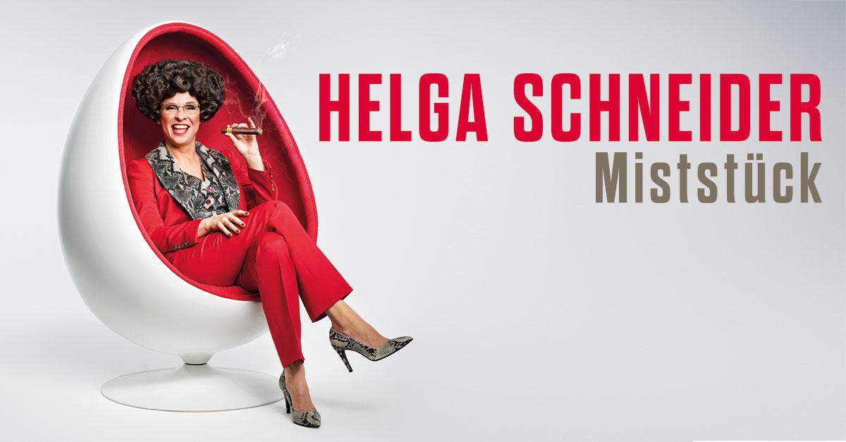 DAS ZELT: Helga Schneider