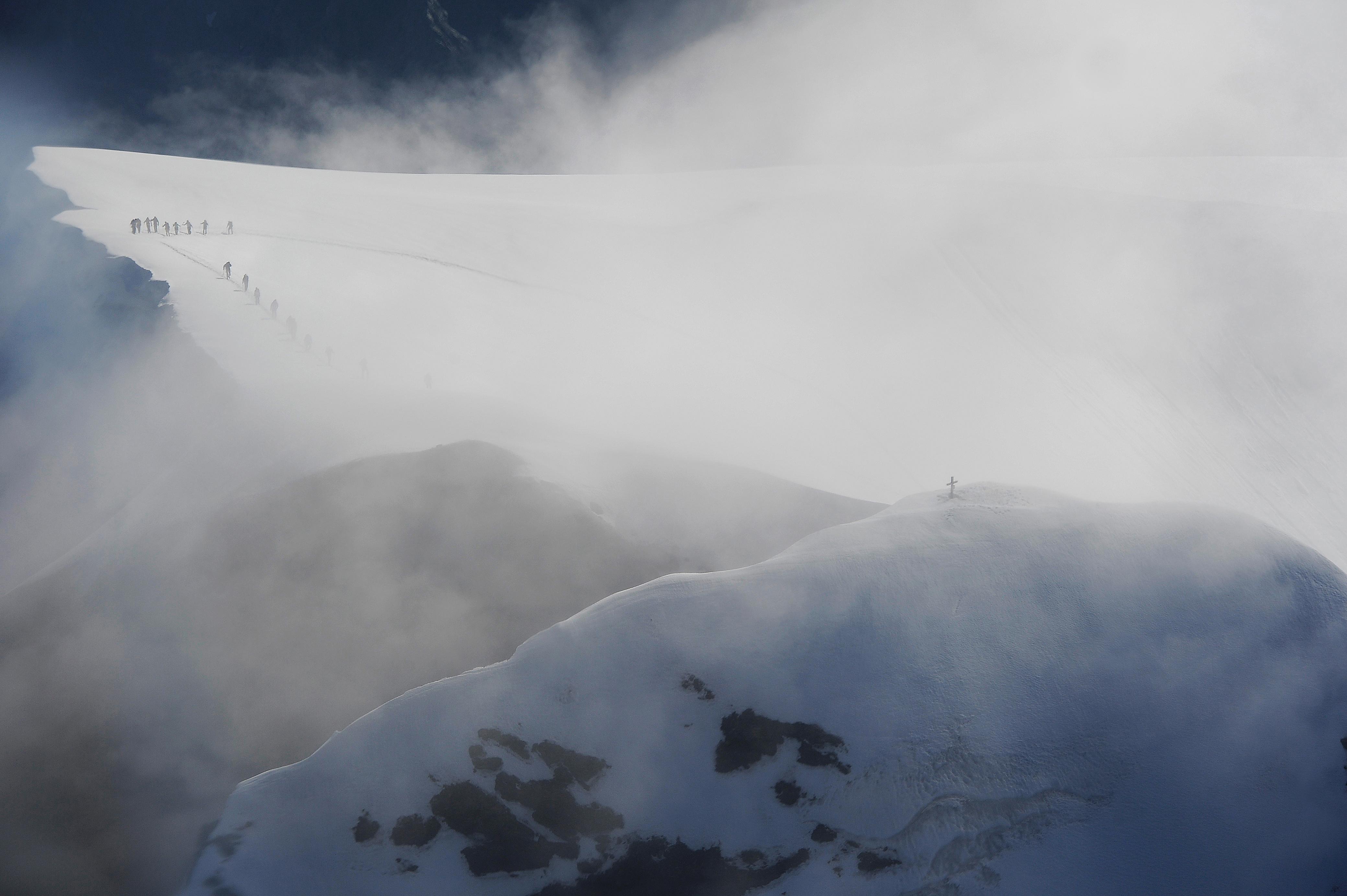 Gipfelwärts - Glarner Bergwelten, Ausstellung von Maya Rhyner