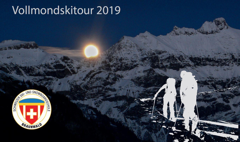 Vollmondskitour 2019