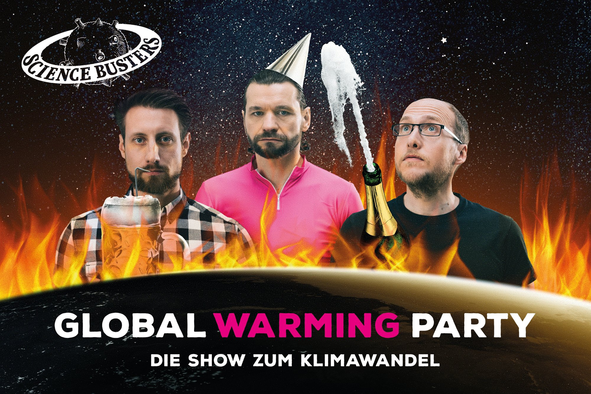 Sience Busters: Global Warming Party
