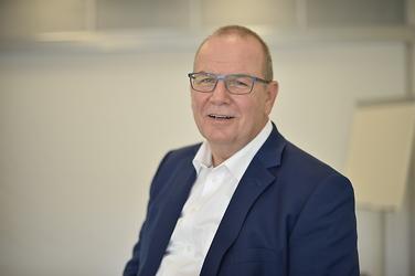 Künstler und Banker René Oderbolz
