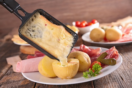 Raclette vom Grill