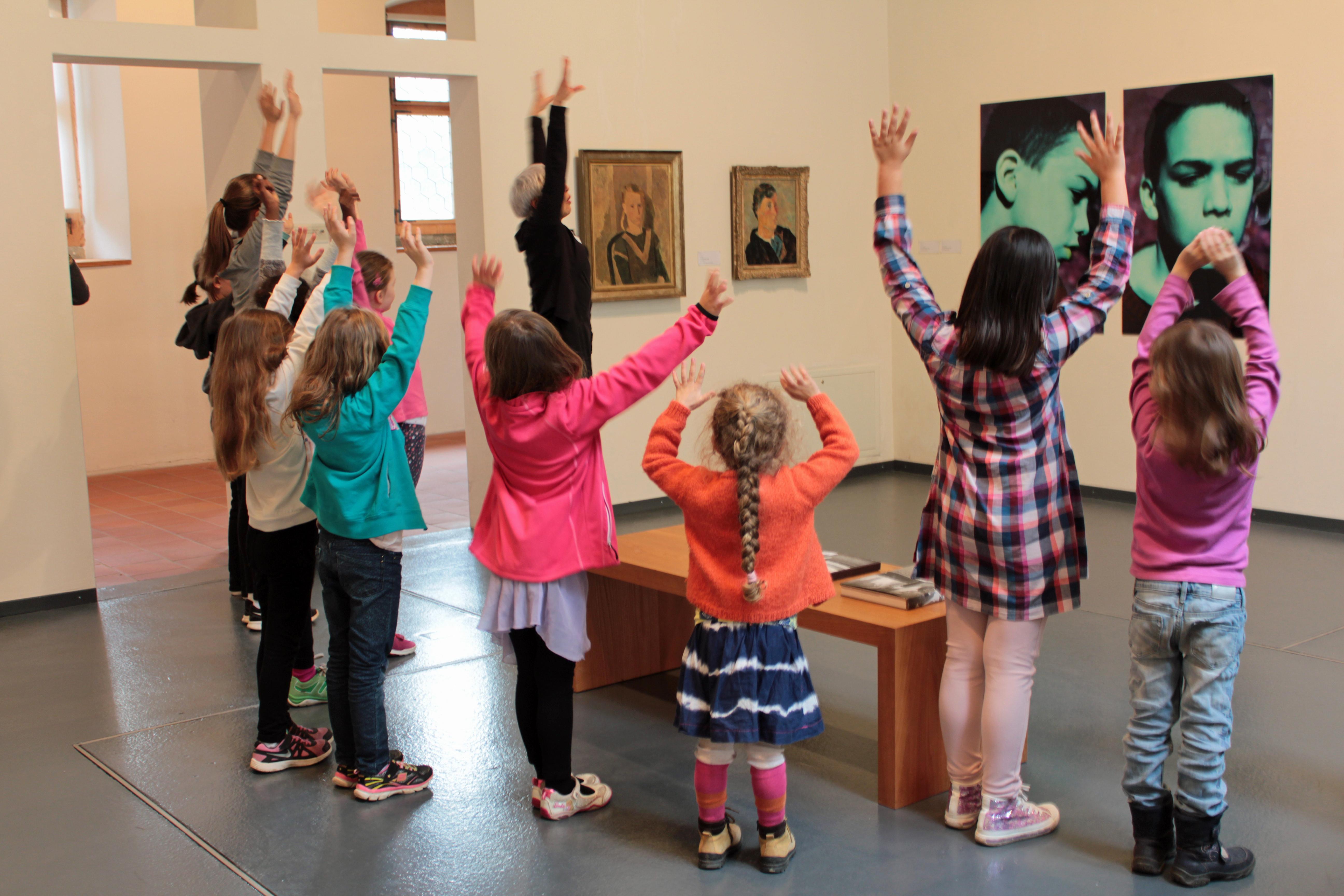 Kinderworkshop: Tanz mit der Kunst!