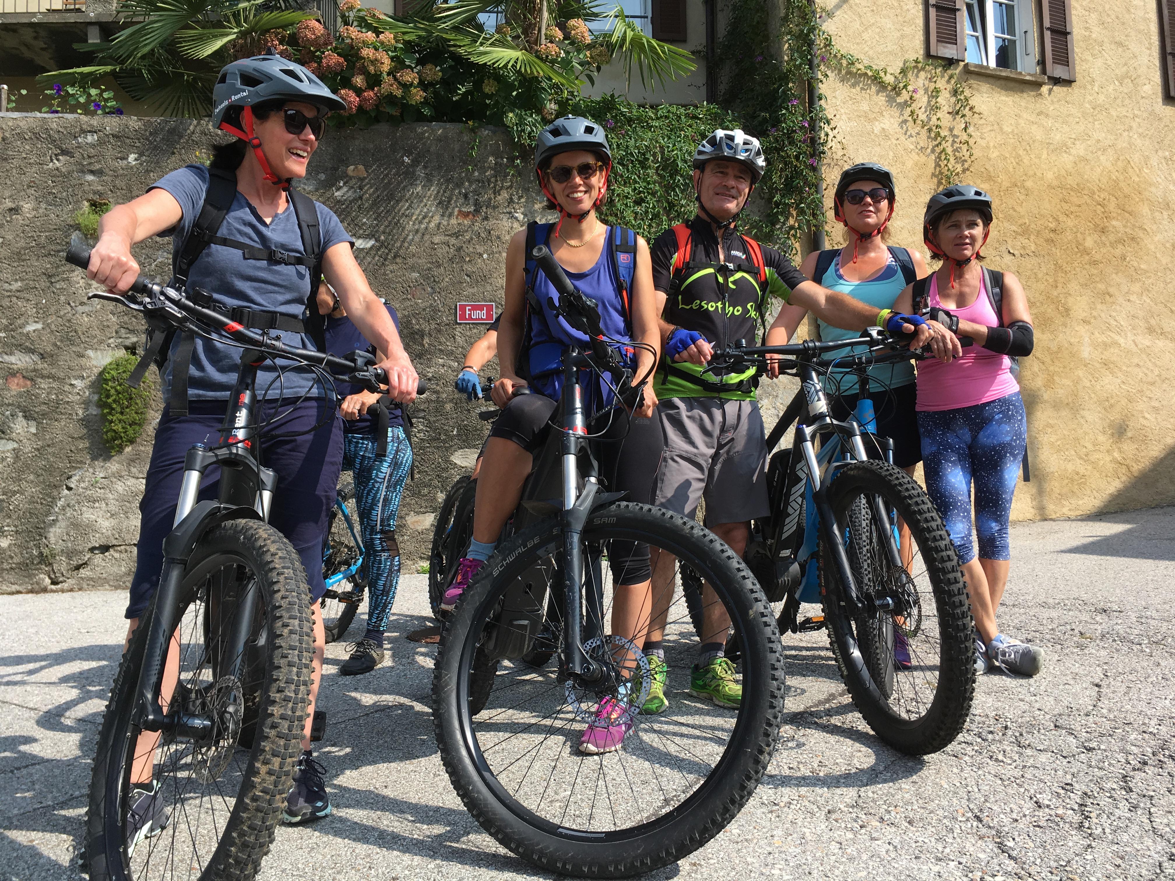 Yoga, Hike & E-Bike