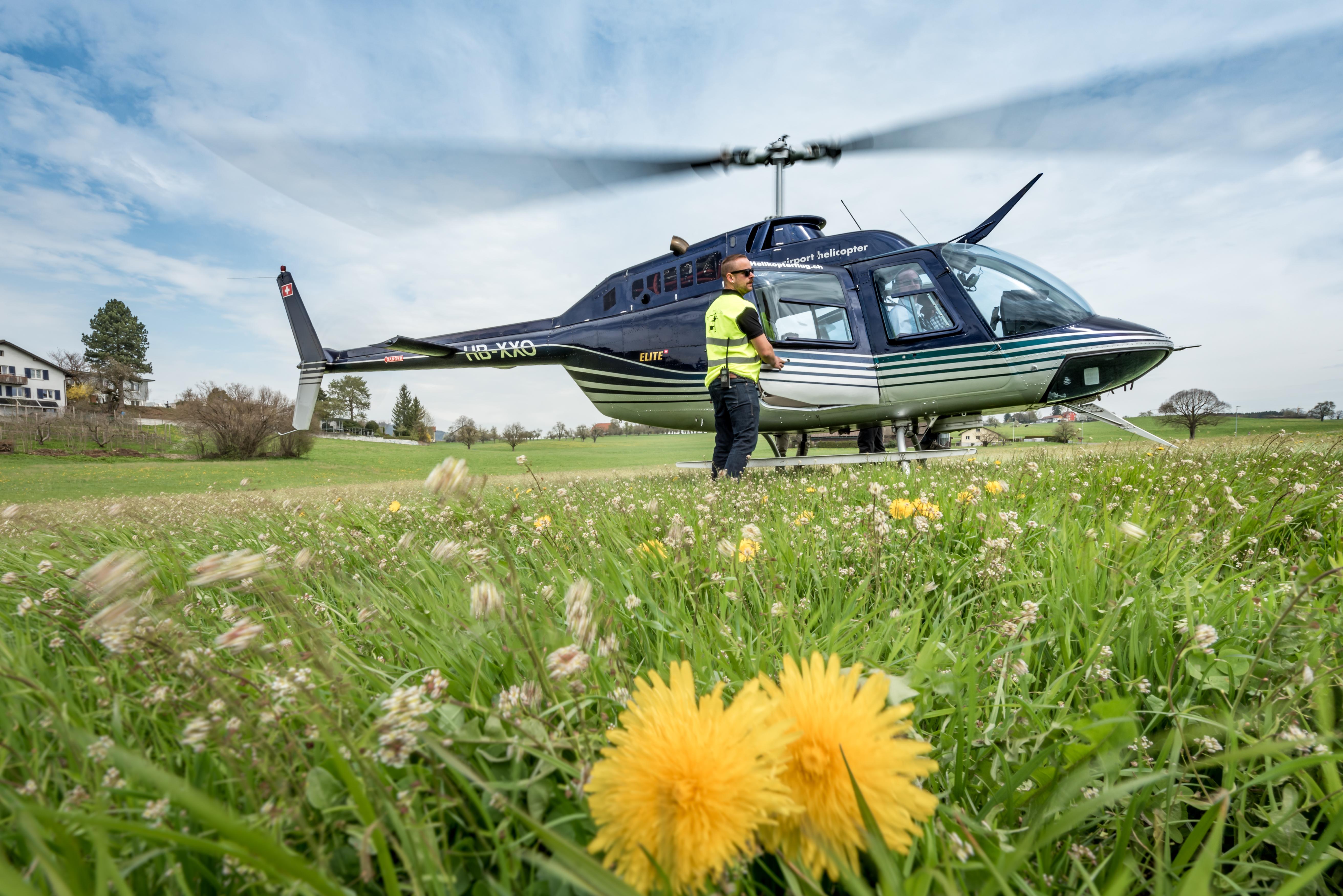Bell 206 Jet Ranger, HB-XXO