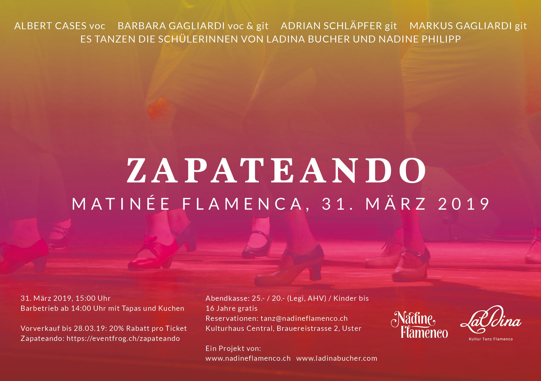 Flyer Zapateando 31.3.19