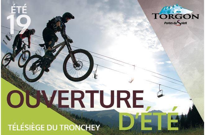 Ouverture du télésiège du Tronchey @  |  |
