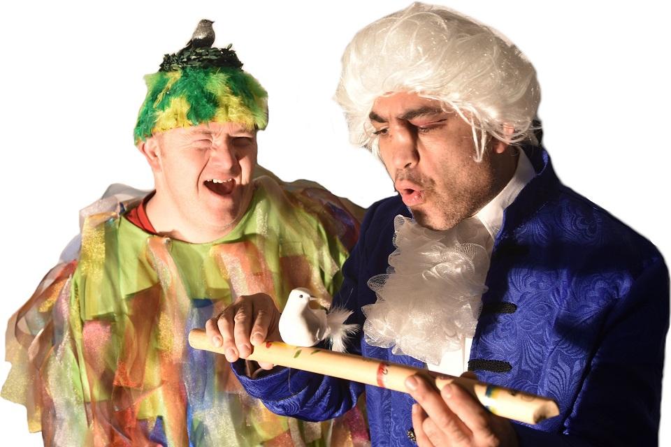 Comedy-express die zauberflöte und andere katastrophen