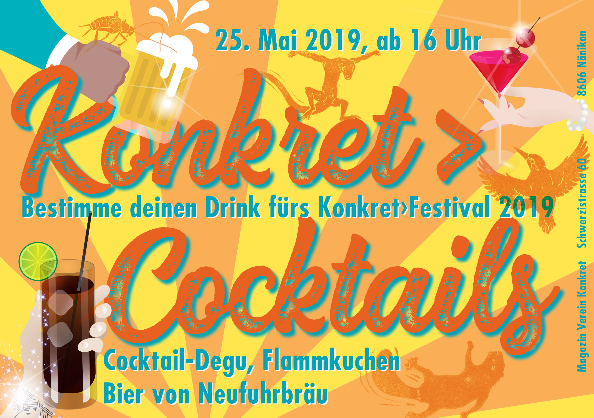 Konkret>Cocktails