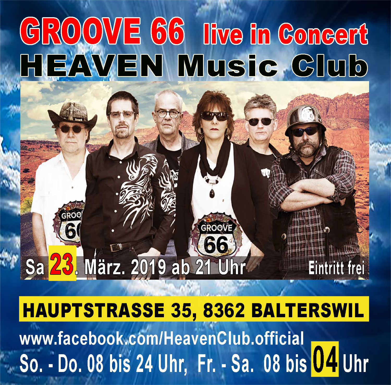 GROOVE 66 live im HEAVEN