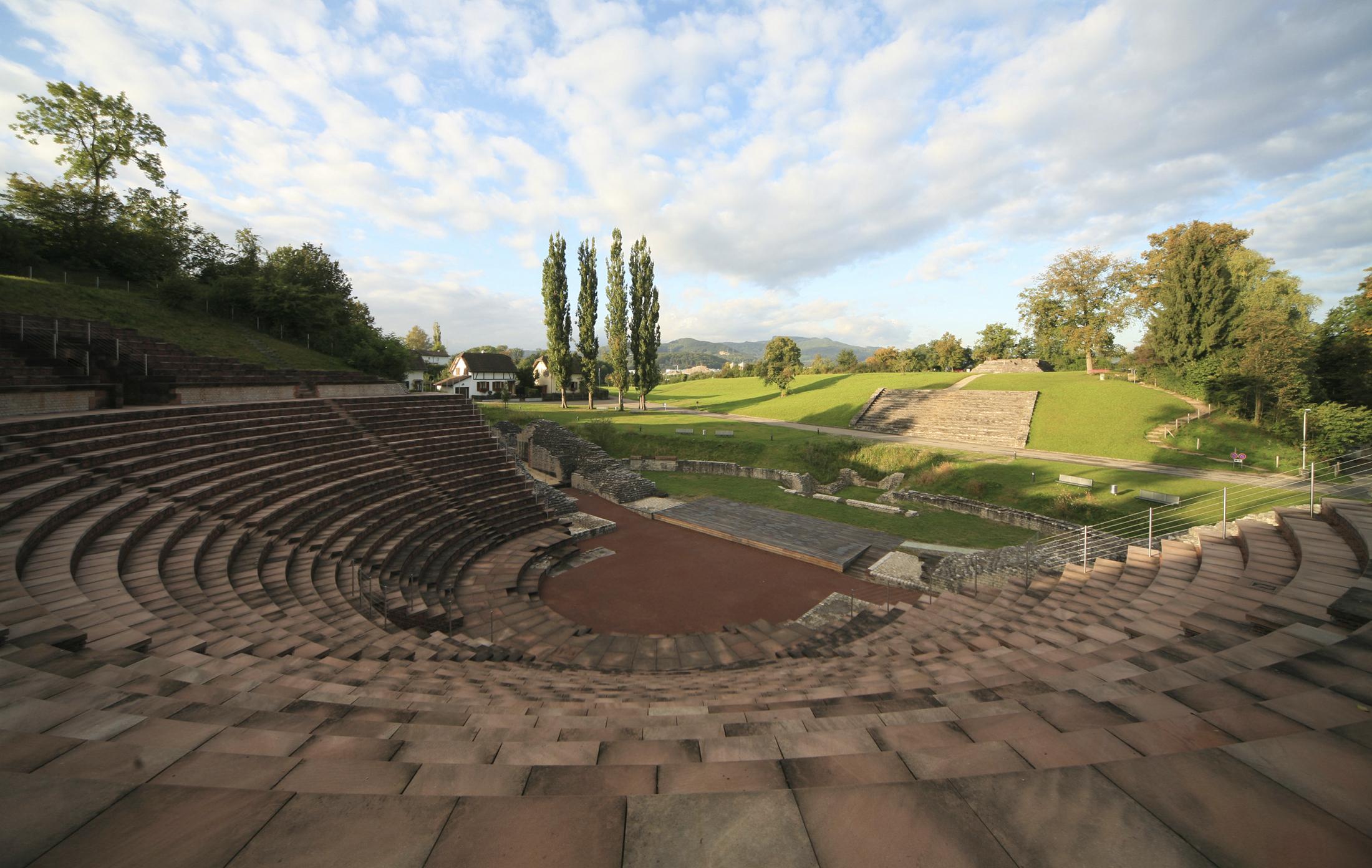 Theater Augusta Raurica by day, Foto: Susanne Schenker
