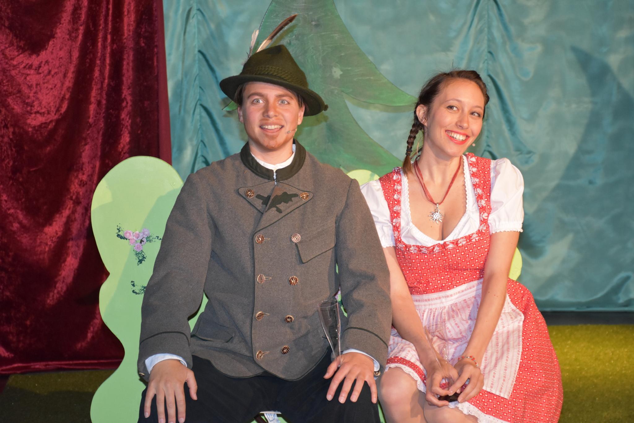 Hof-Theater: Wo die Hirschlein seufzen