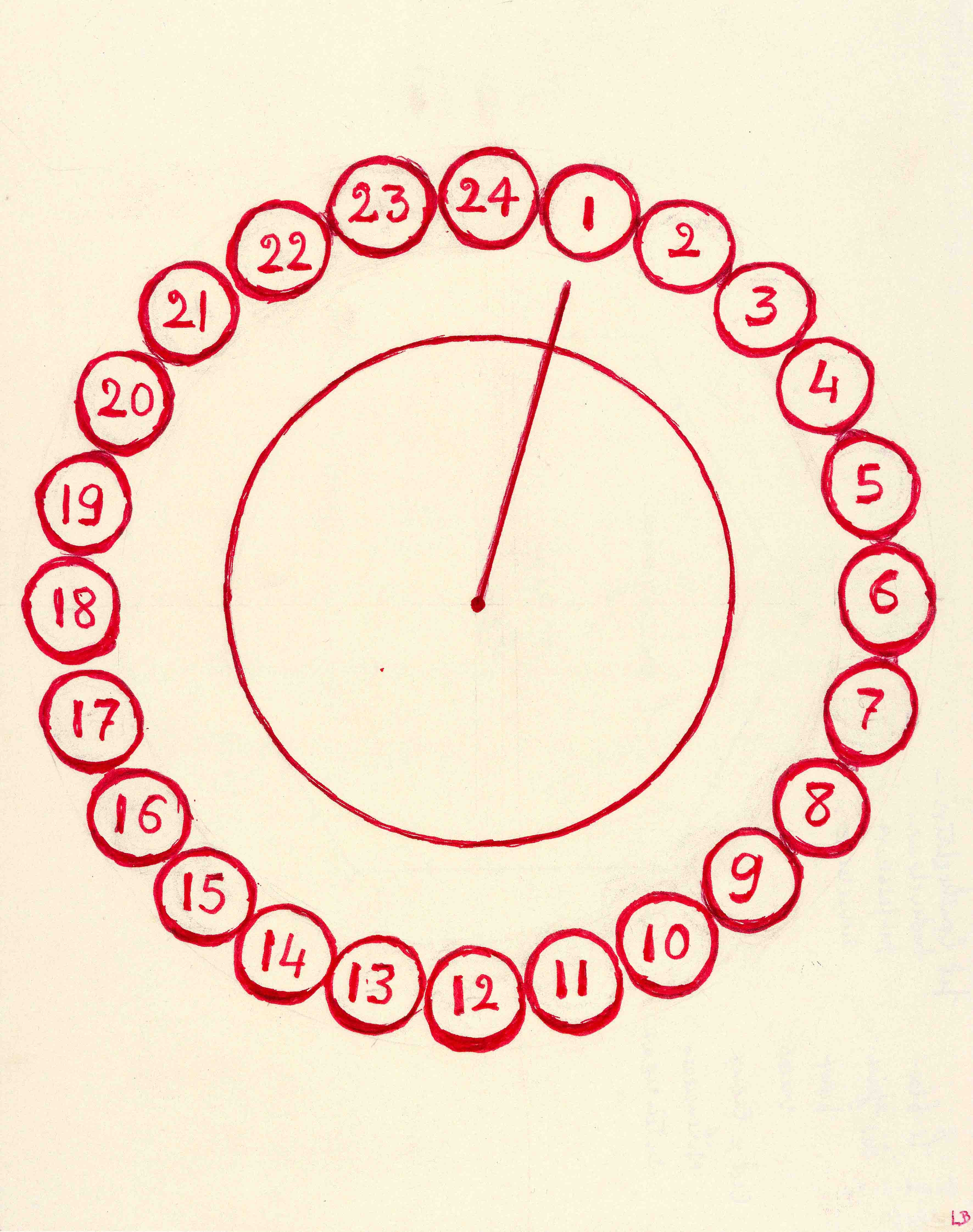 Louise Bourgeois: Insomnia Drawings