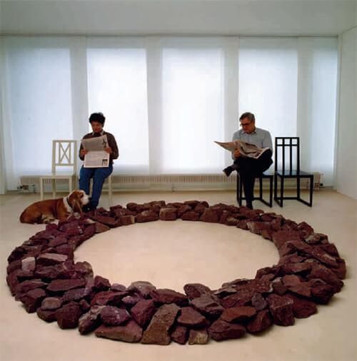 Zeit und Raum - Hommage an Christine und Peter Kamm