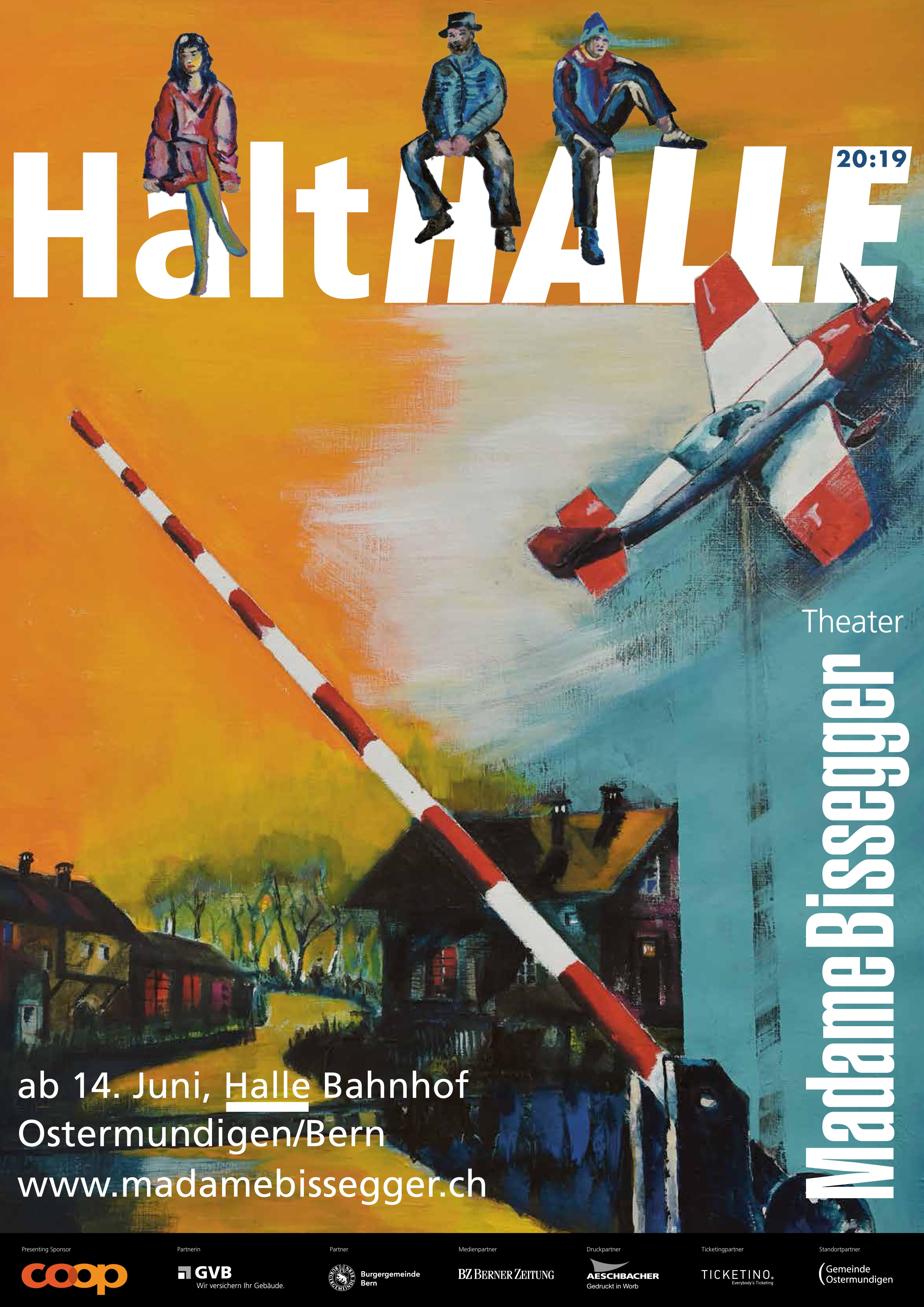 Theater Madame Bissegger: Halt Halle