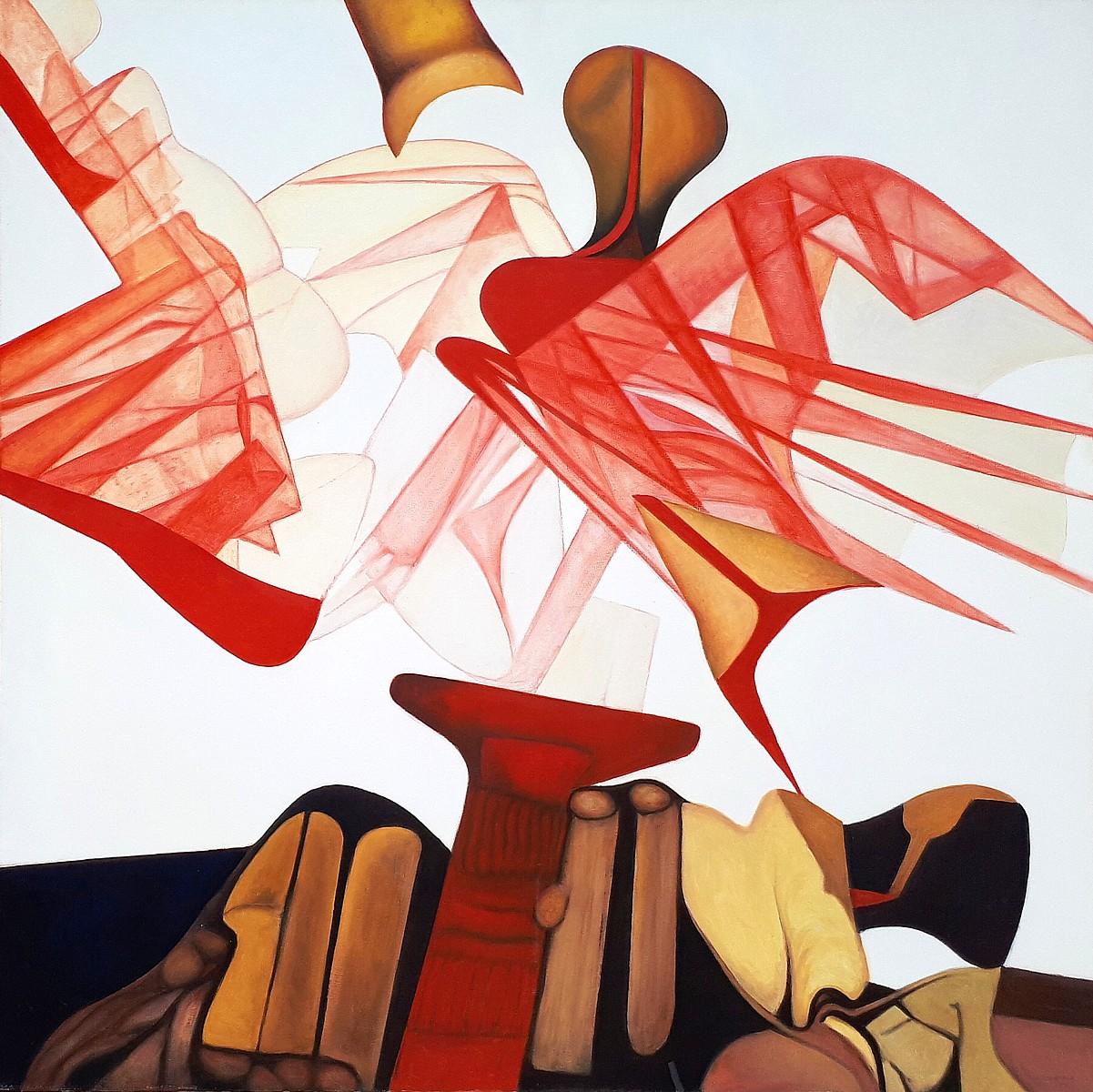 Gérard bregnard - a coeur ouvert - tableaux et dessins surréal