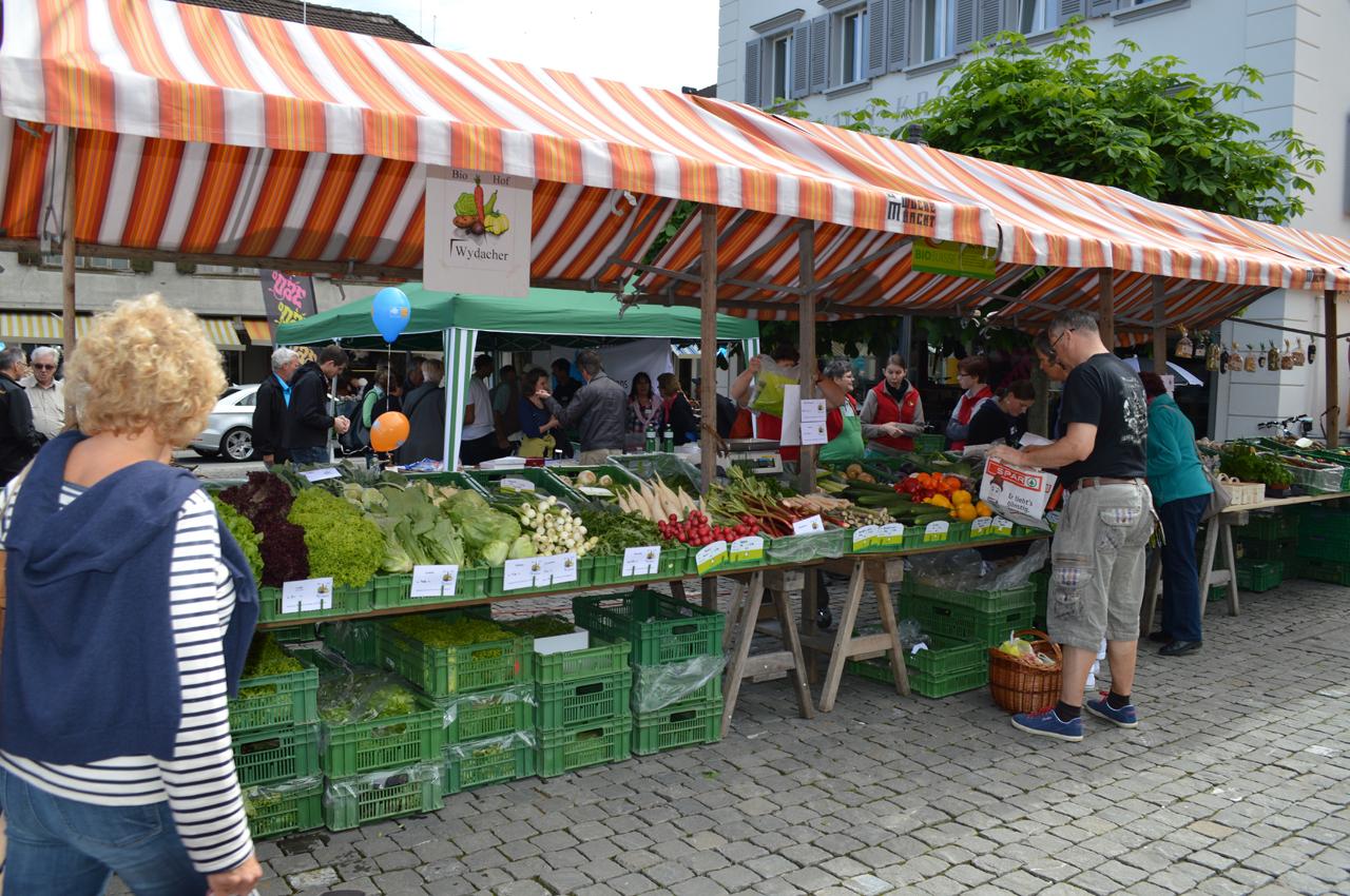 Stanser Wochenmarkt