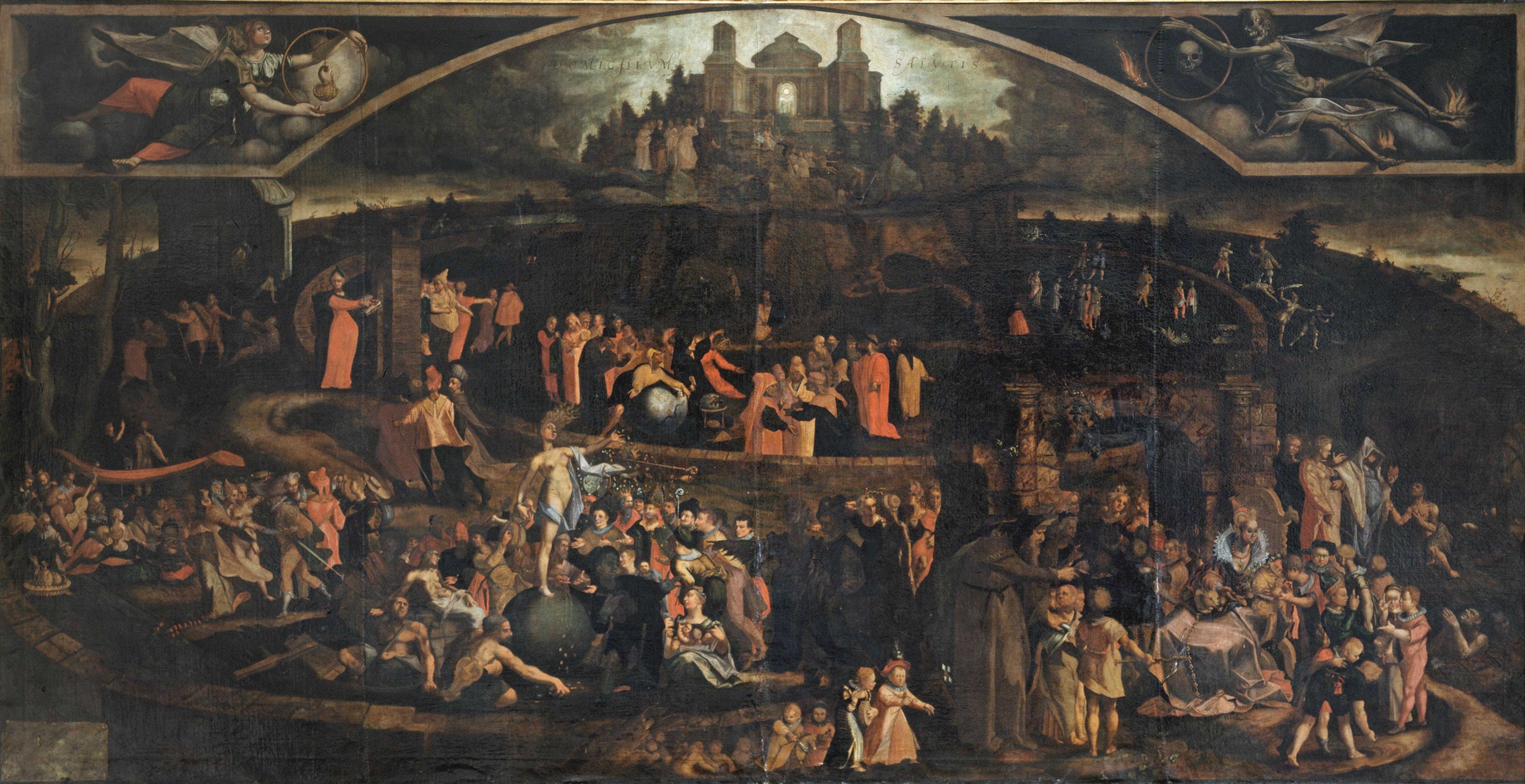 Die Berner Kebes-Tafel und die Bilderwelten des Barock