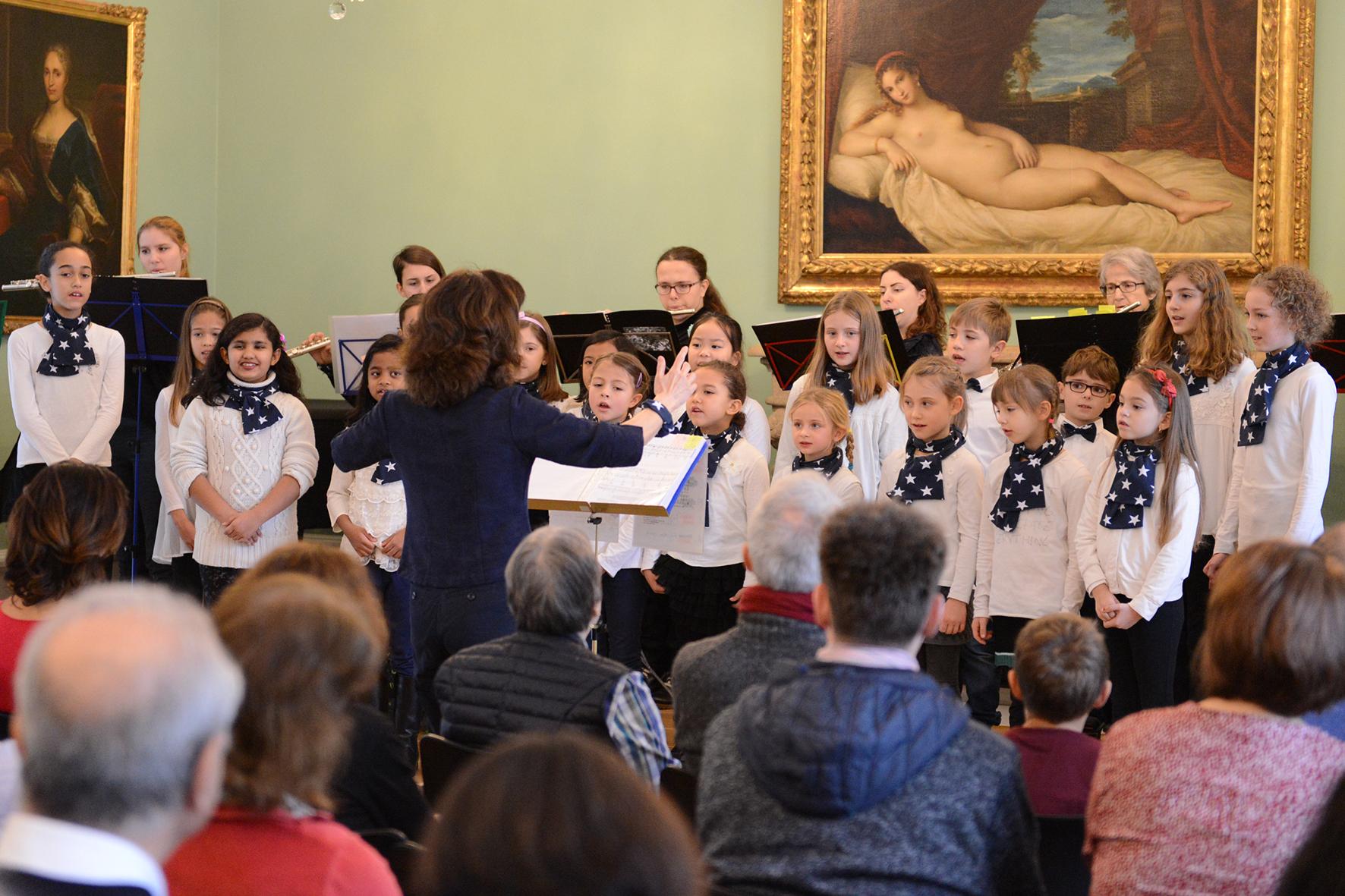 Weihnachtssingen: Kinderchor der Musikschule Region Baden