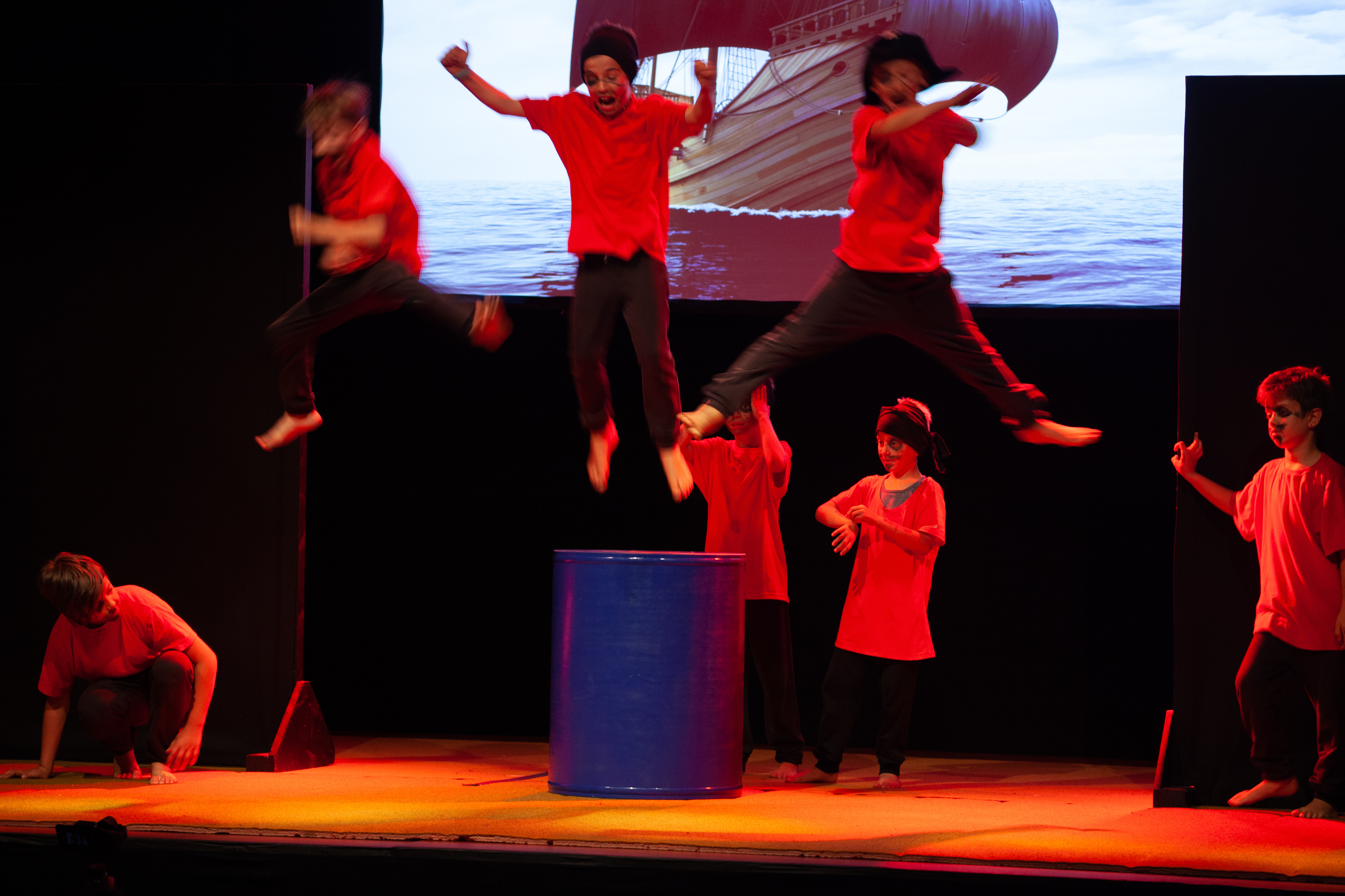 Wilde Kerle (Circus 1.-4. Klasse, nur für Buben)