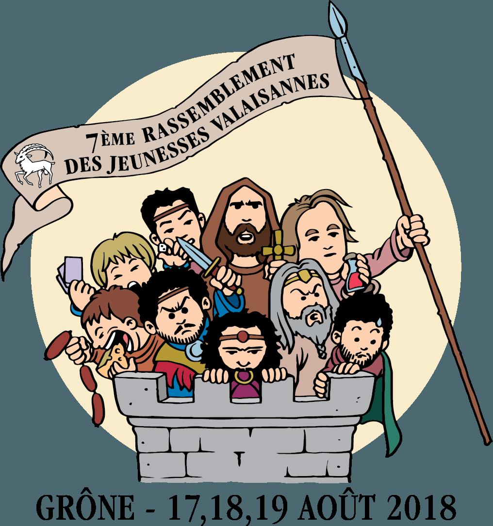 7ème Rassemblement des Jeunesses valaisannes 2018