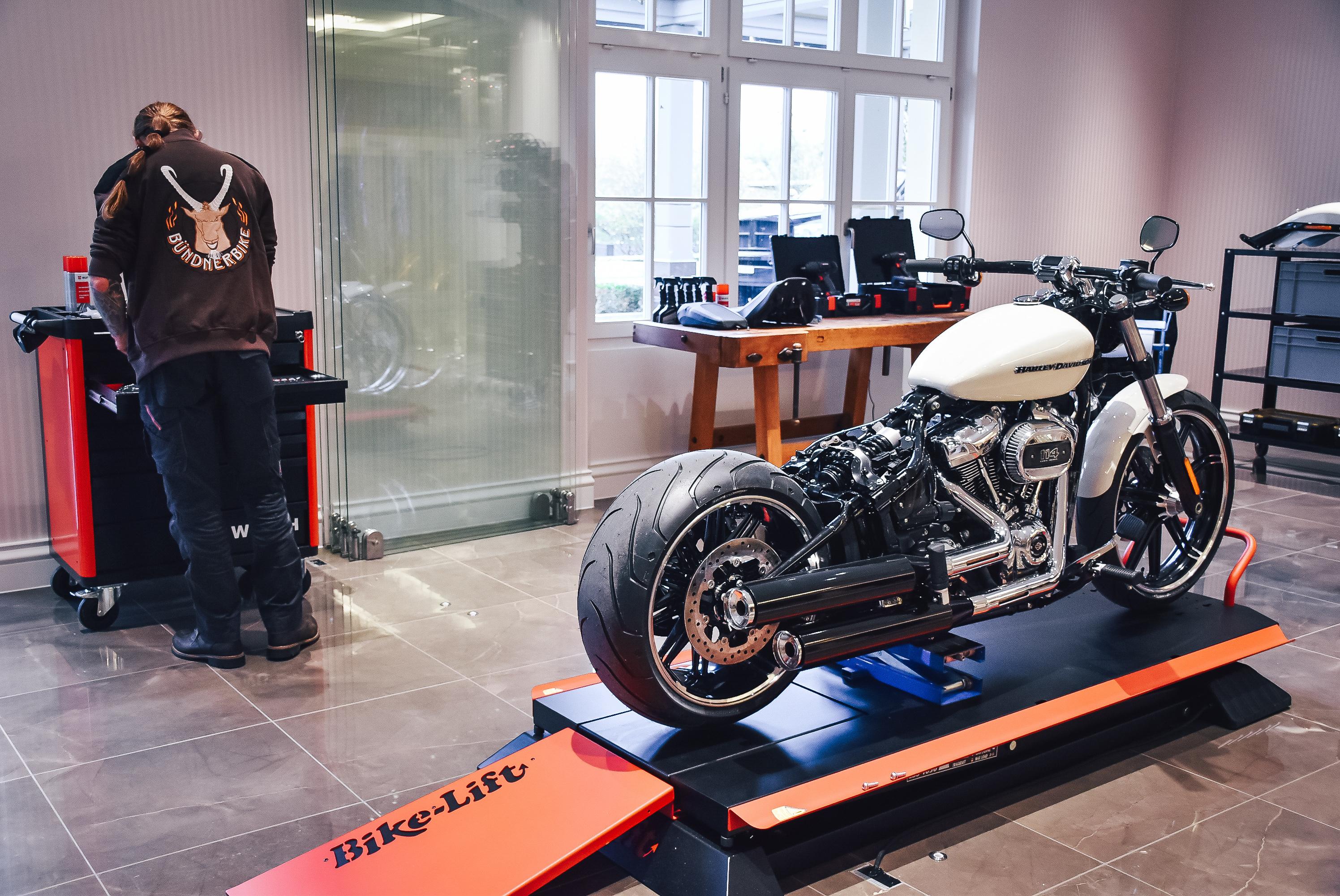 Harley Davidson Werkstatt